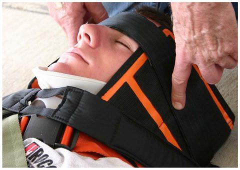 Oregon Spine Splint II forehead restraint strap SK-302