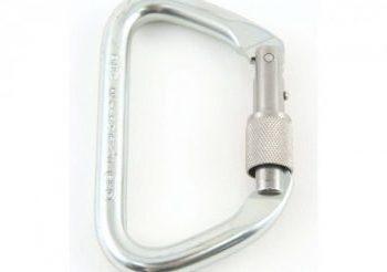 Sked steel locking carabiner SK-206