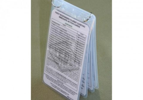 Immediate Action Cards for extreme medicine and first responders